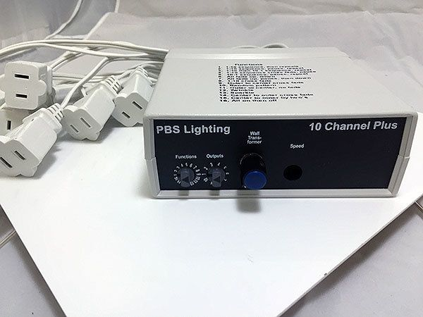 Animator 10 Plus 1 10 Channel Multi Function Controller Decorating With Christmas Lights Christmas Light Installation 10 Things