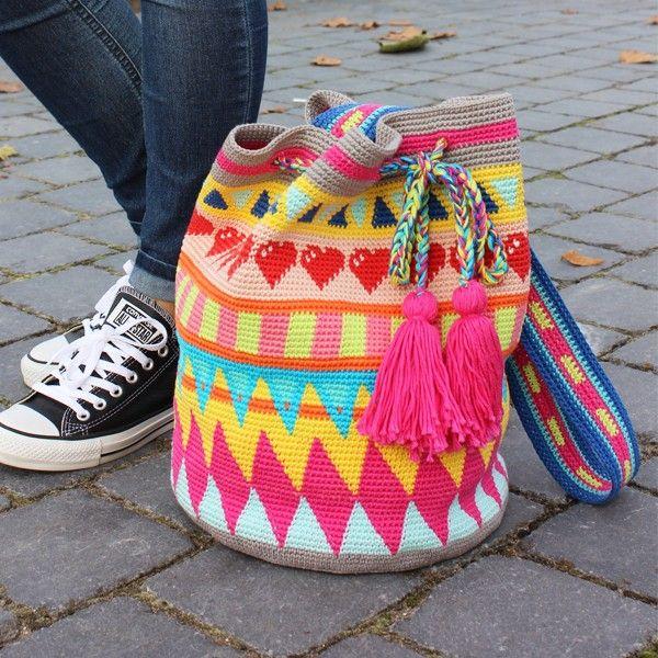 Tapestry Tasche Häkelpaket | Pinterest | Wollplatz, Tasche häkeln ...