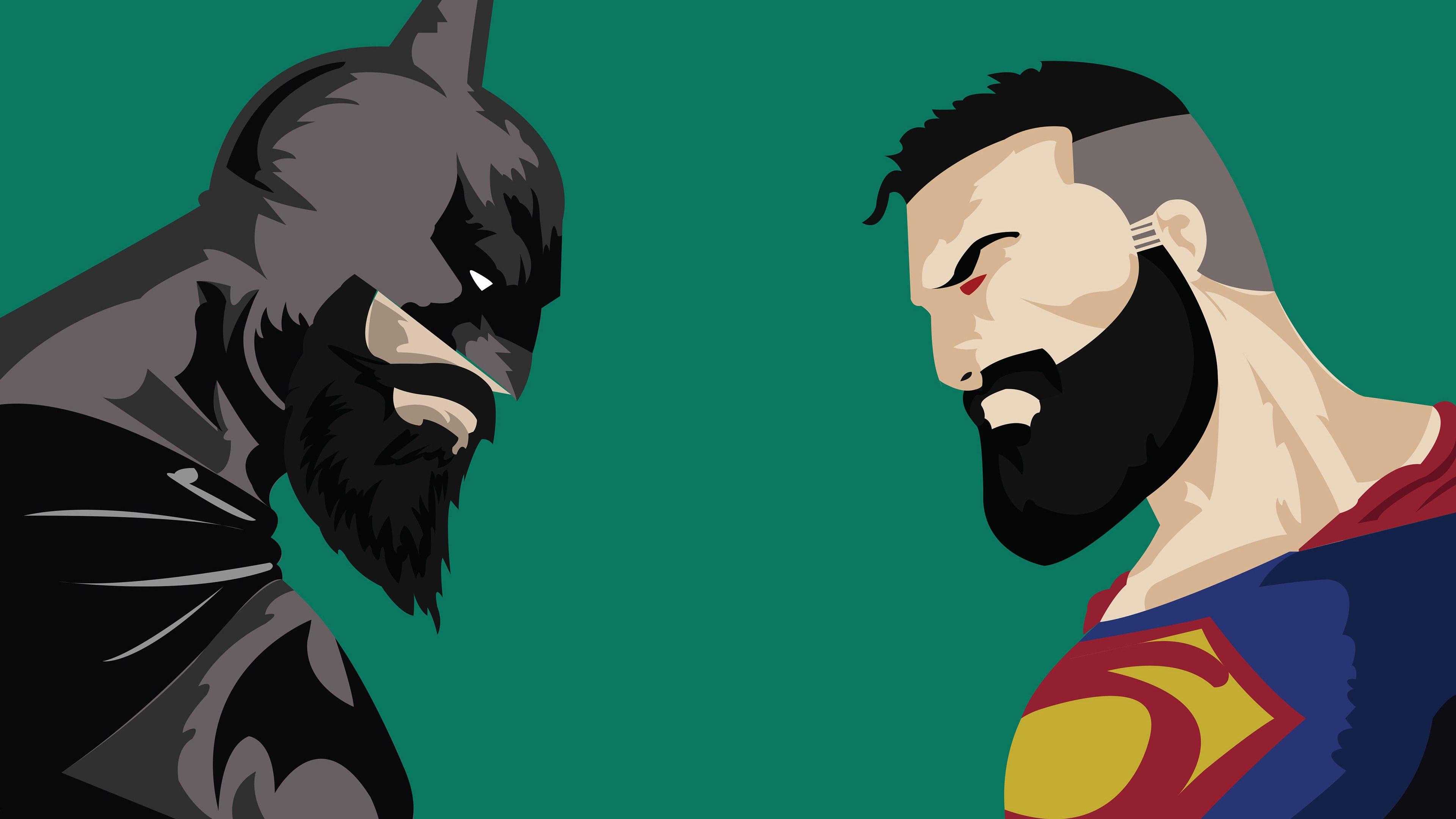 Batman Vs Superman With Beard Superman Wallpapers Super
