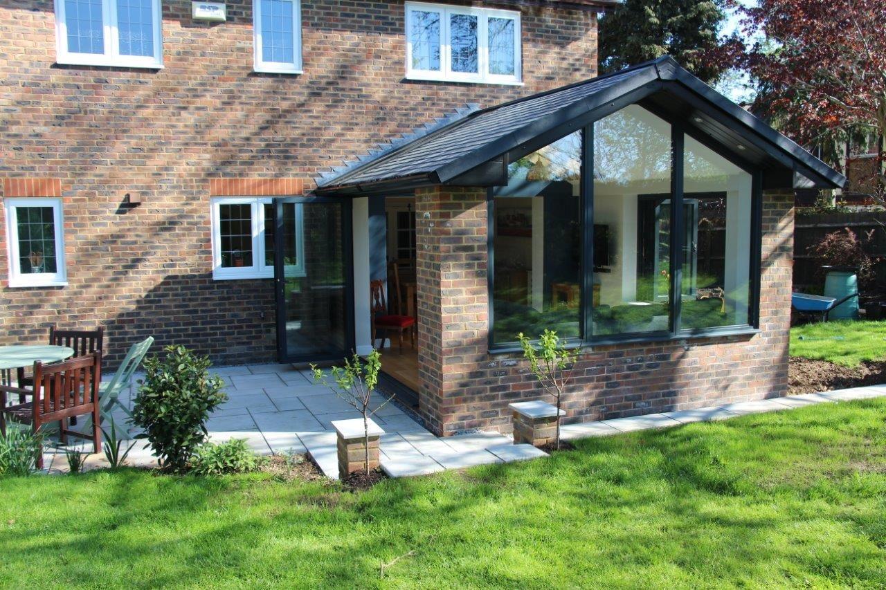 Home Extension Gable Ended Garden Room Garden Room Extensions Small House Extensions House Extensions