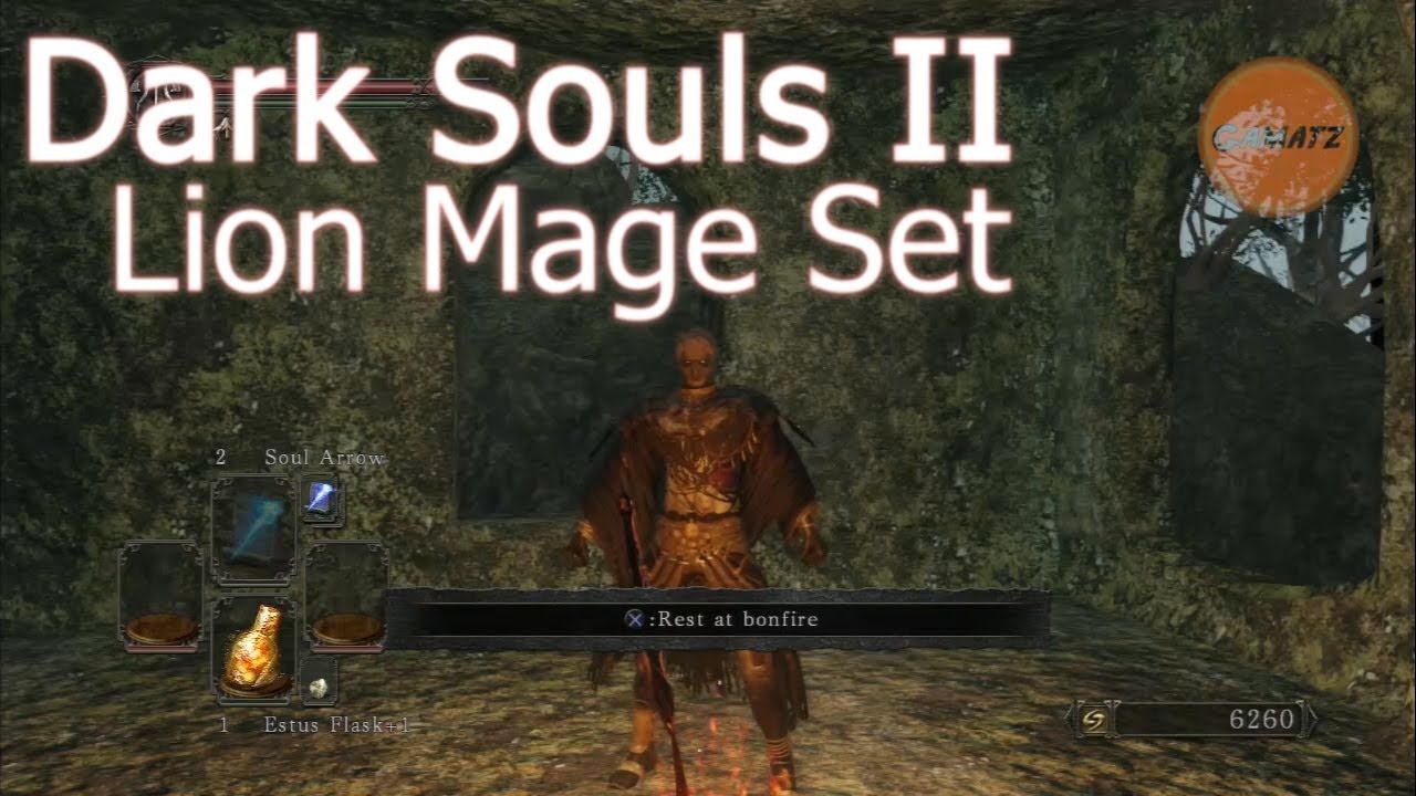 Dark Souls 2 How To Get Lion Mage Armor Without Fragrant Branch Of