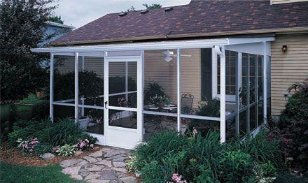 Outdoor screen rooms champion windows sunroom ideas - Champion windows sunrooms home exteriors ...