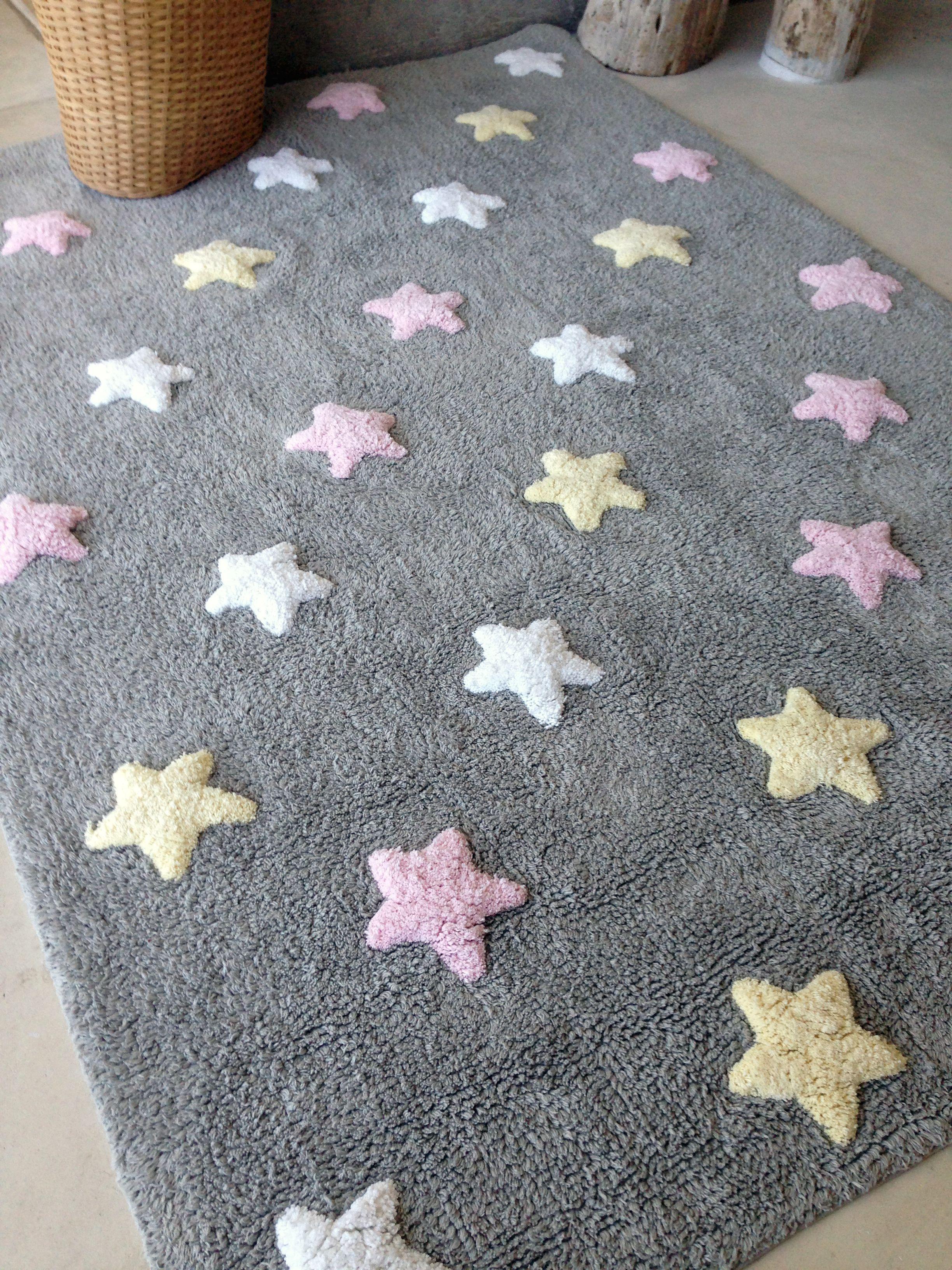 Waschbarer Teppich Für Das Kinderzimmer Aus Reiner Baumwolle Traumhafter  Kinderzimmerteppich Der Spanischen Firma Lorena Canals Aus Reiner Baumwolle.