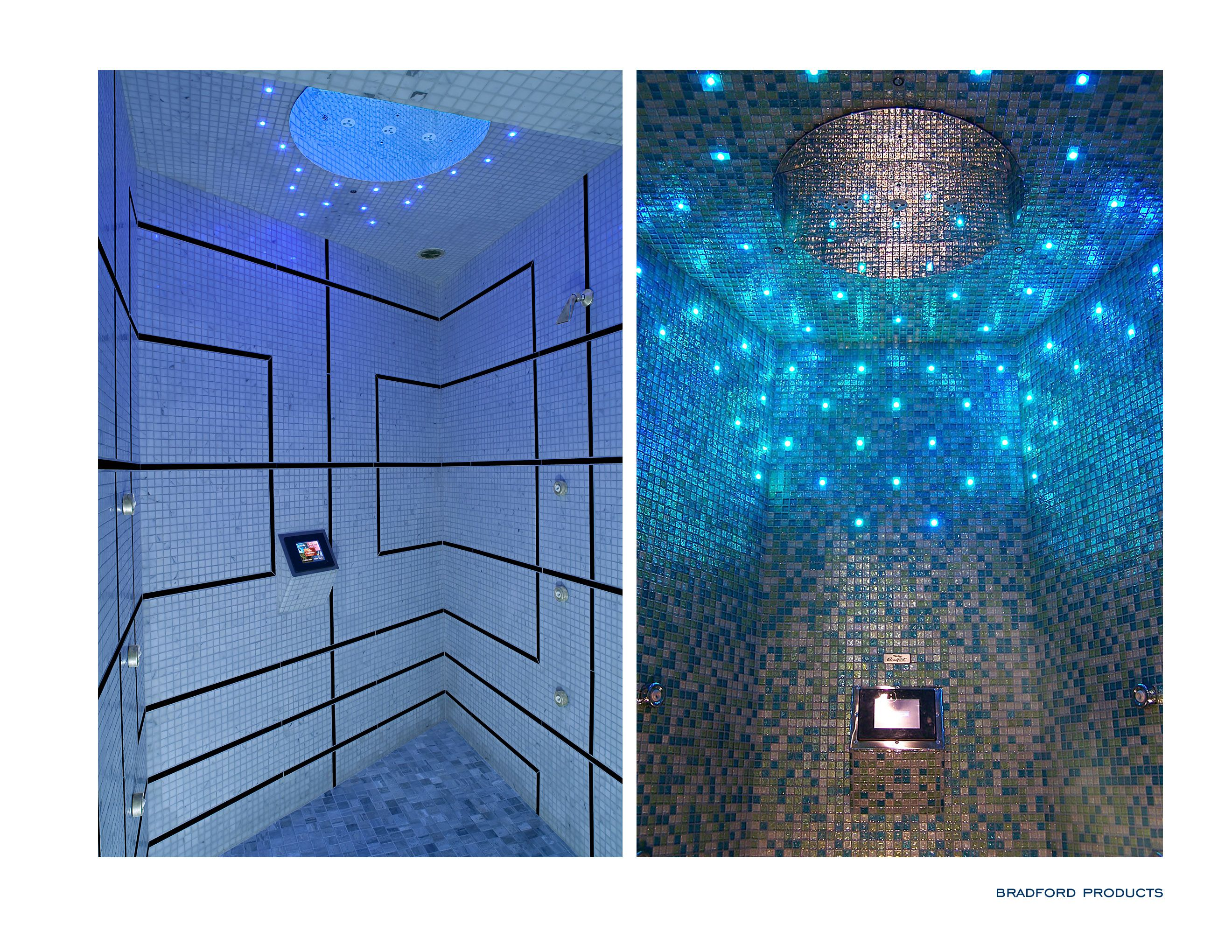 Two Examples Of A Bradford Experience Shower