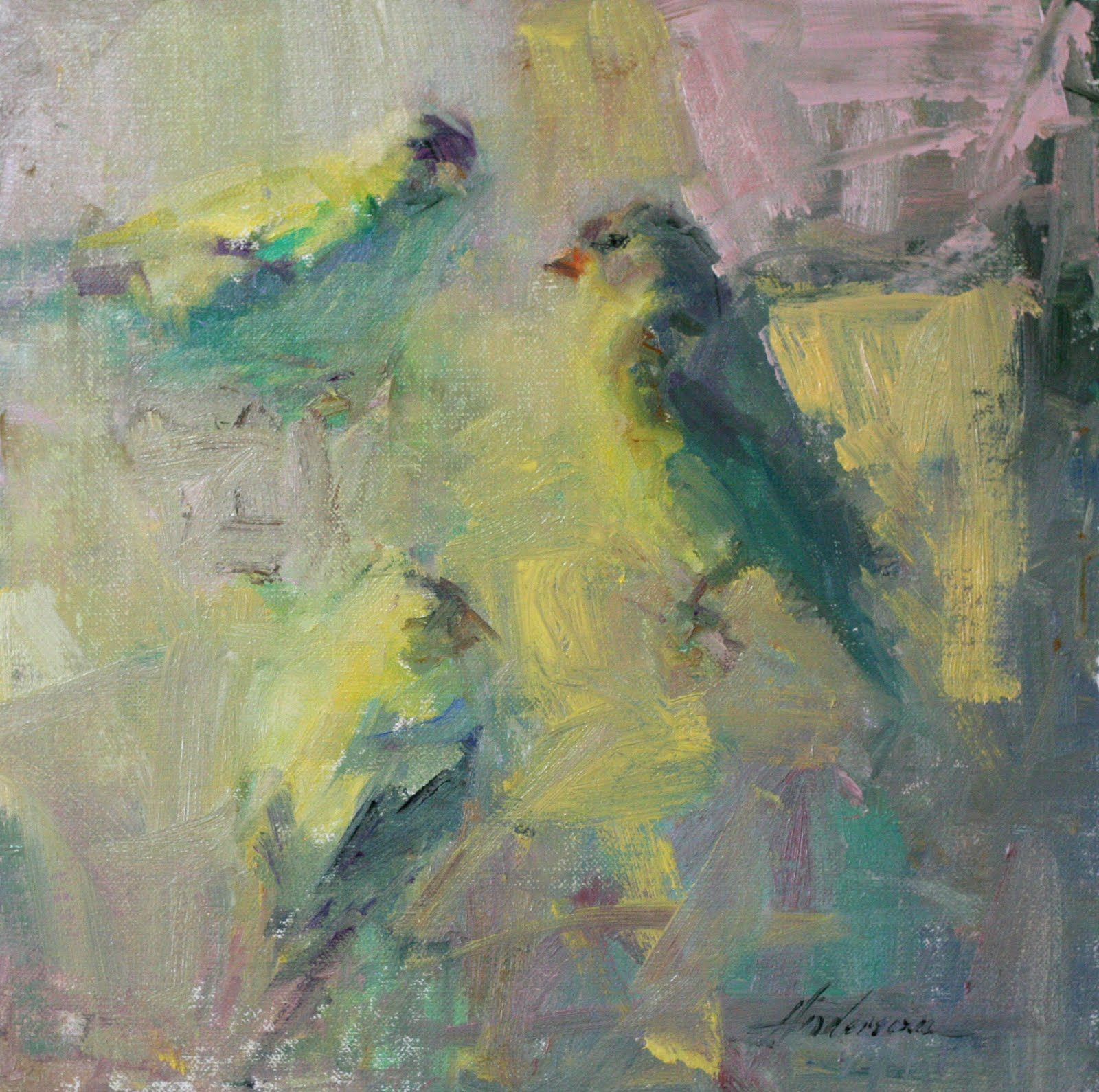 Famous Paintings Of Birds . Anderson