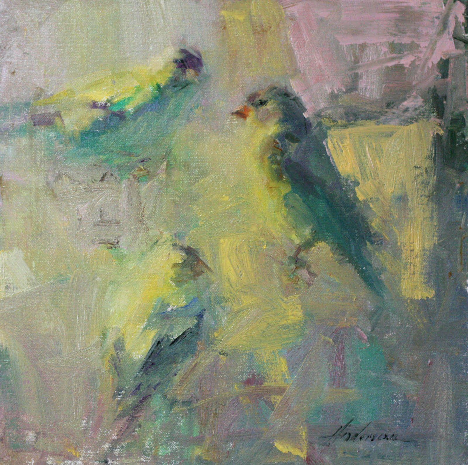 Great artist Carolyn Andersonolyn Anderson/ More paintings