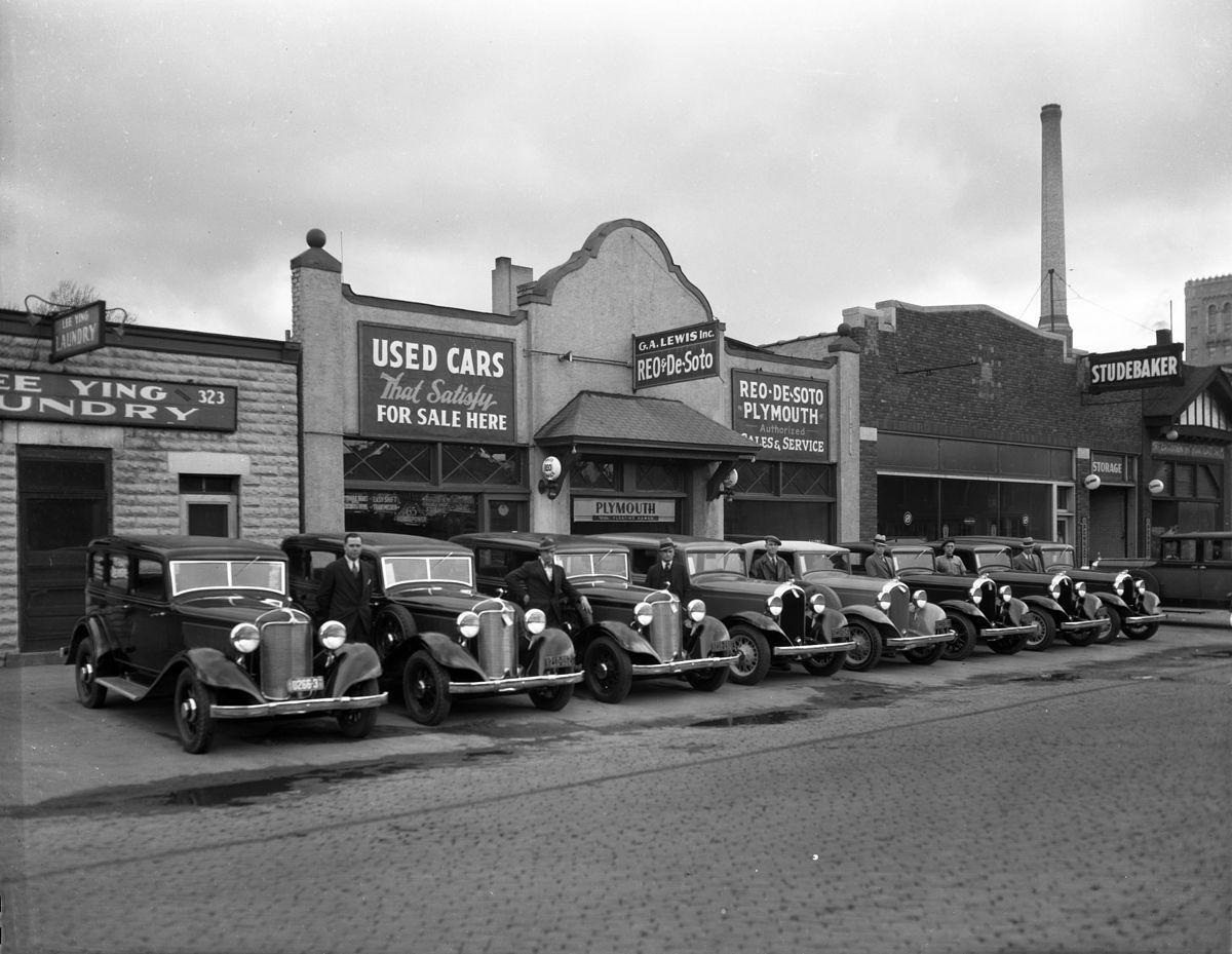 G.A. Lewis Inc., Reo & DeSoto Plymouth Dealership