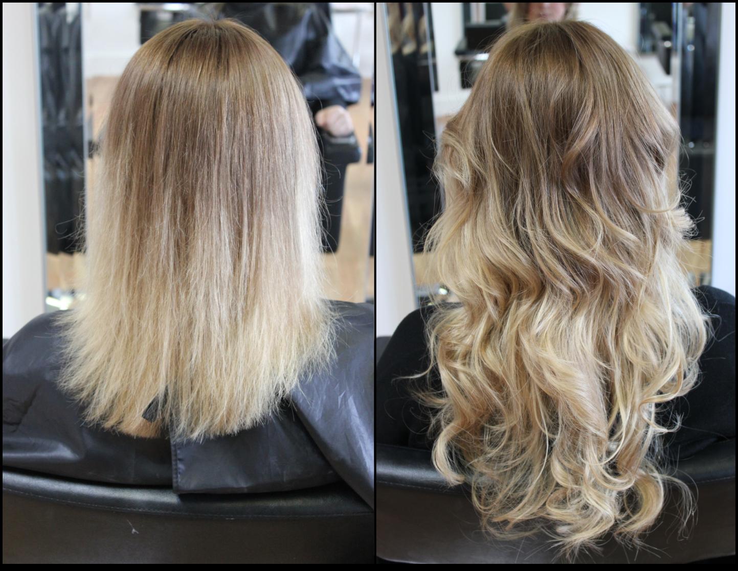 Celebrity Brandz Hair Extensions Before After Beauty Pinterest