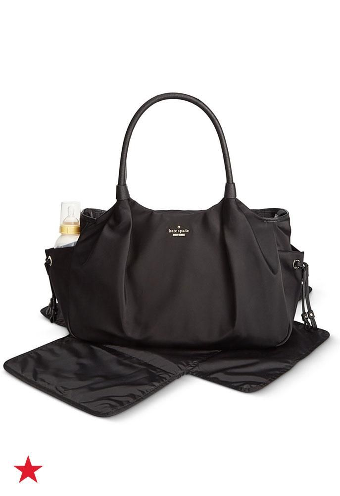 Moms Can Always Be Stylish Thanks To This Chic Kate Spade New York Baby Bag Roomy Diaper With Plenty Of Pockets And Straps Even Includes A