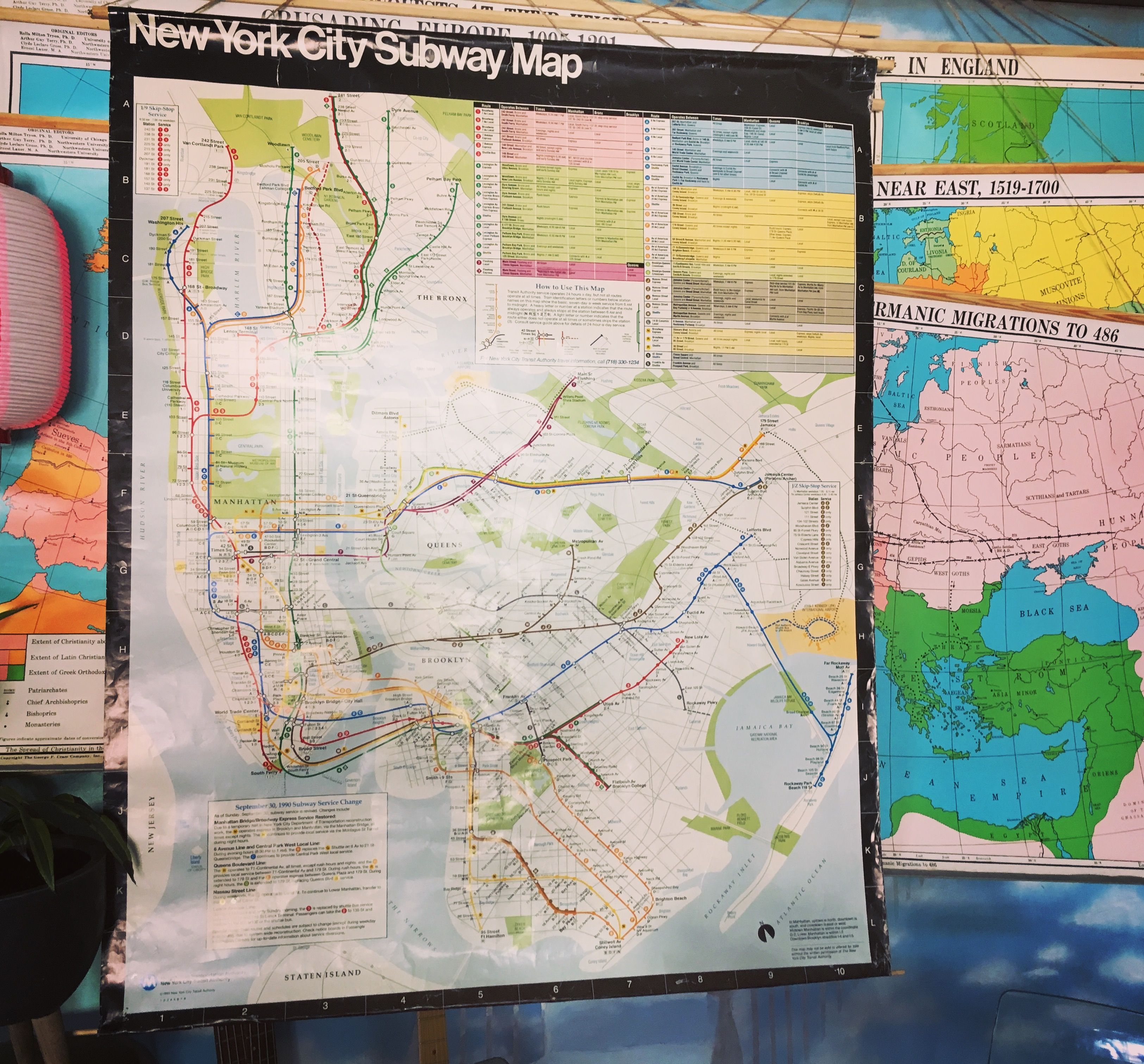 Nyc Subway Map Cards.Pin By Love Vintage Life On Globes And Maps Nyc Subway Map Nyc