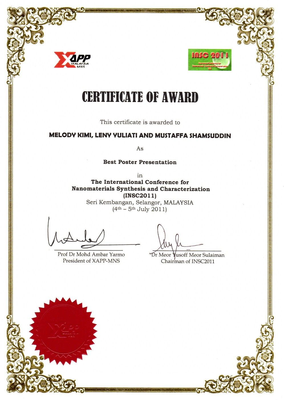 The Inspiring International Conference Certificate Templates Acmec Throughout I Certificate Templates Business Template Certificate Of Participation Template