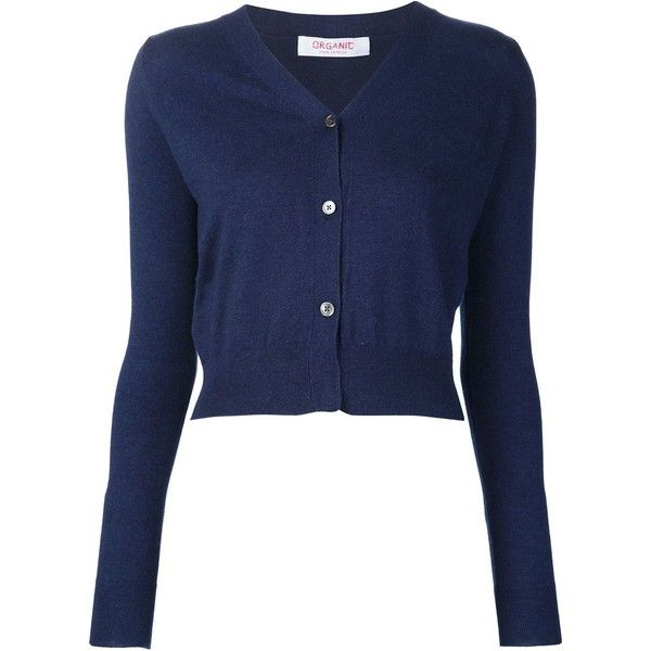 Organic By John Patrick V-neck cardigan (241.280 CLP) ❤ liked on Polyvore featuring tops, cardigans, blue, v neck cardigan, v-neck tops, cardigan top, blue top and blue cardigan