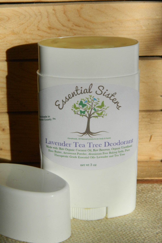This item is unavailable This item is unavailable Allison Perchman allisonperch23 Wish list Lavender Tea Tree All Natural Deodorant Aluminum Free Deodorant Deodorant Deod...