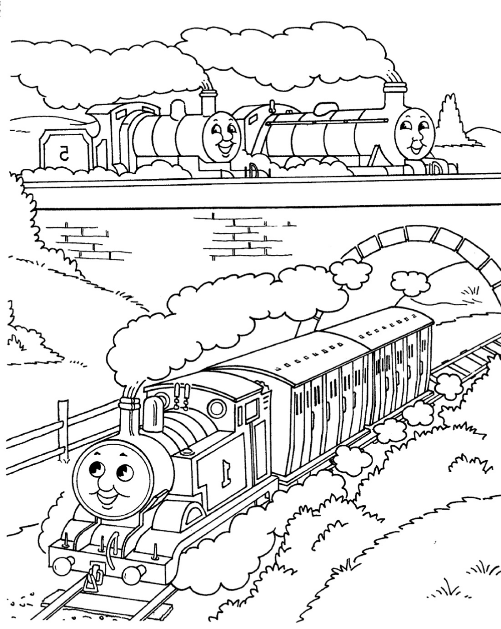 Thomas Coloring Pages (With images) | Coloring pages ...
