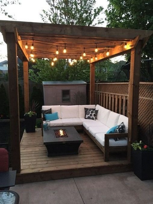 15 Cozy Backyard And Garden Seating Ideas For Summer Decoracionesdejardin Flores Huertocasero Huertojardin Ideasdejardineria Jardin En 2020 Decoracion De Patio Exterior Diseno De Terraza Y Diseno De Patio