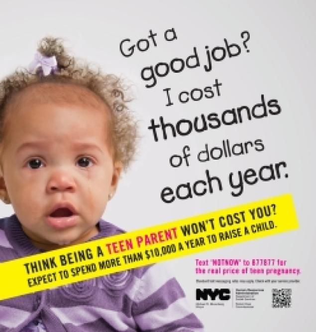 cost teen pregnancy