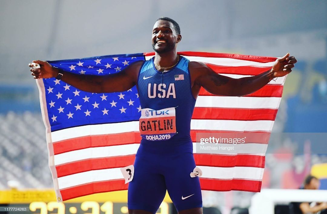 Believe In Yourself Push Yourself Conquer Your Goals Exceed Your Limits And Be Happy Yesterday S Race Was Awesome Track And Field Justin Gatlin Team Usa
