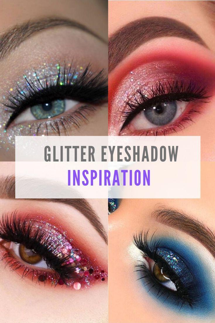 10 Most Amazing Glitter Eyeshadow Looks Glitter