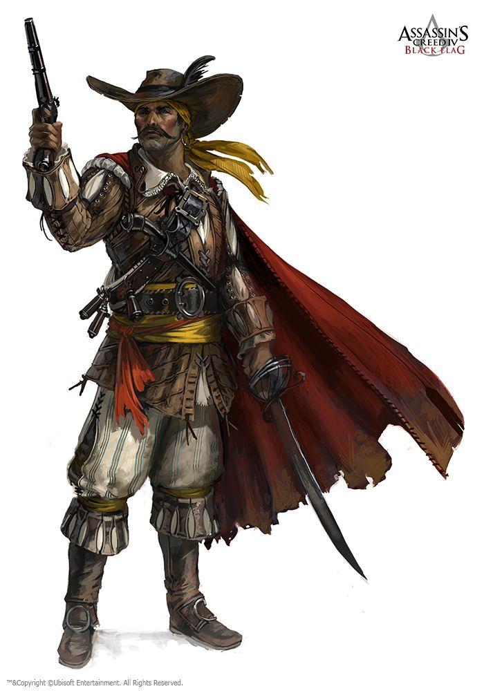Concept Art Assassins Creed Black Flag Medieval Fantasy