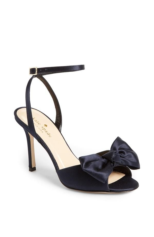 d535b487c2d3 Teaming this satin bow sandal with jeans and cute dresses next season!