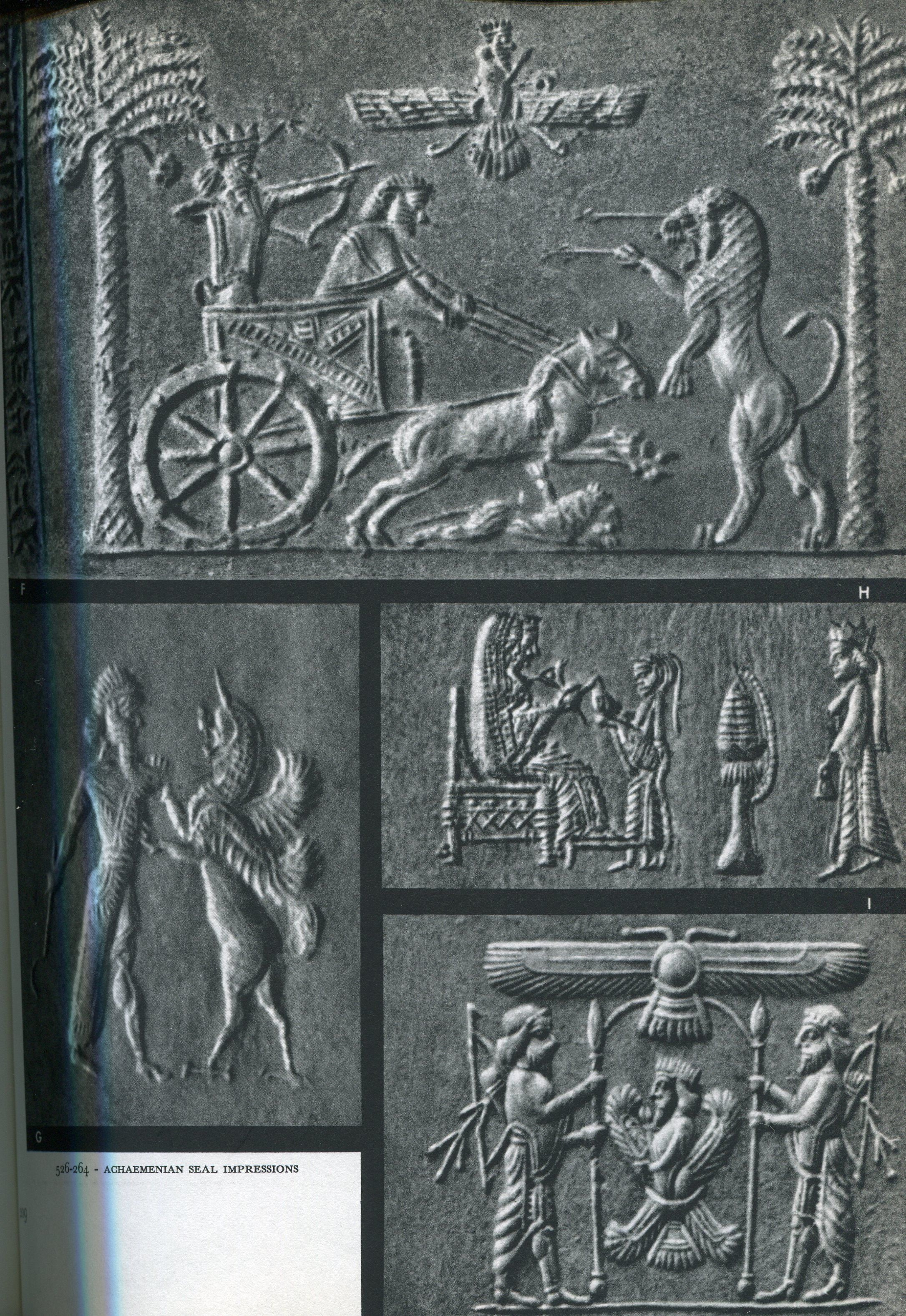 Cylinder Seal. Achaemenian. | Middle East Empires ...