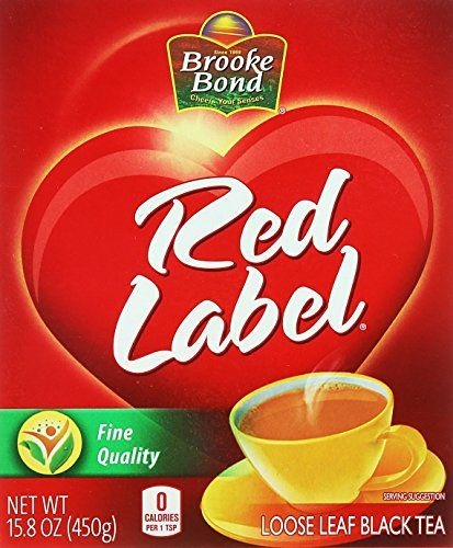 Brooke Bond, Red Label Loose Leaf Black Tea, 450 Grams(gm