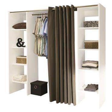 dressing extensible 2 colonnes dressing extensible conforama et extensible. Black Bedroom Furniture Sets. Home Design Ideas