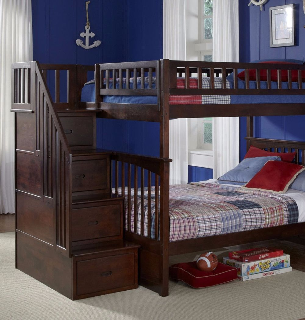 Best Full Over Full Bunk Beds Bunk Beds With Stairs Bunk Beds Bunk Beds With Storage
