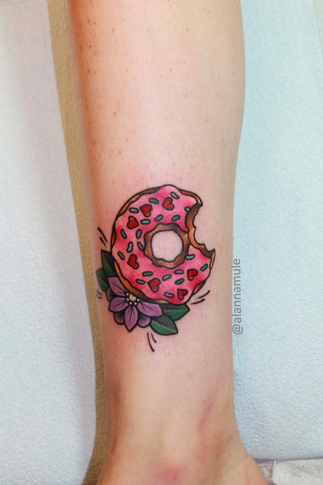 doughnut simpsons tattoo simpson 39 s tattoos ideas pinterest simpsons tattoo tattoo and. Black Bedroom Furniture Sets. Home Design Ideas