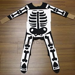 picture regarding Skeleton Stencil Printable named Skeleton Dress - Do-it-yourself Halloween Gown Awesome decorating
