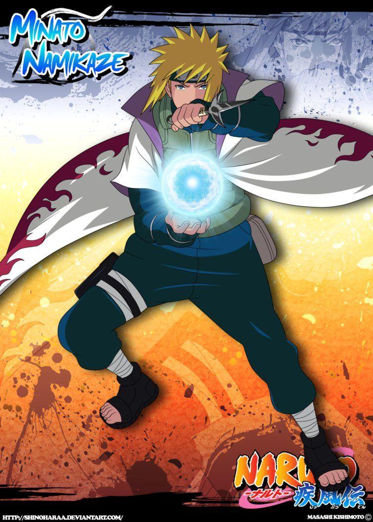 Minato Namikaze Naruto Shippuden Anime Anime Naruto Naruto Sasuke Sakura