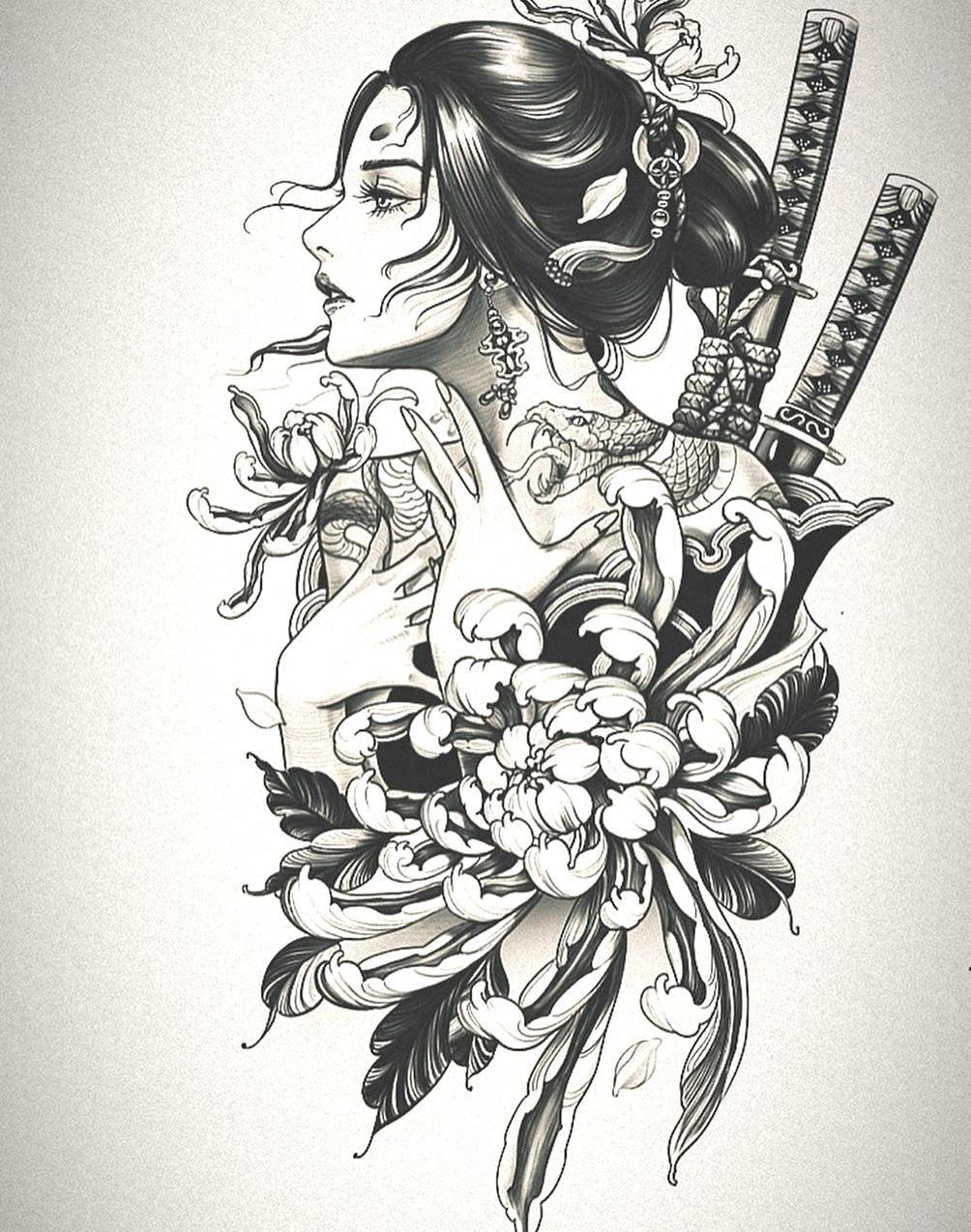 Pin By Volodymyr Dehtyarov On My Beautiful Collections Geisha Tattoo Design Japanese Tattoo Japanese Tattoo Art