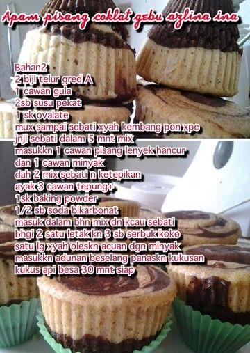 Apam Pisang Coklat Traditional Cakes Desserts Cake Cookies
