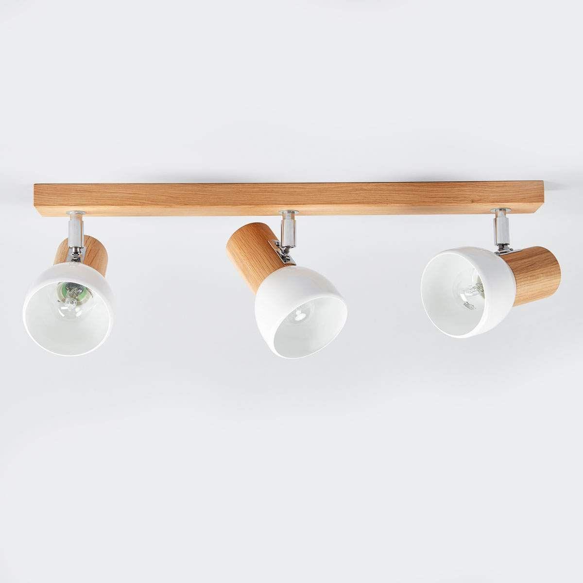 Svenda Dreiflammige Holz Deckenlampe Deckenlampe Lampe Lampenlicht