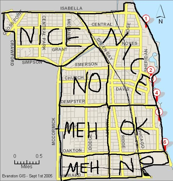 evanston crime map - Google Search | Chicago | Pinterest | Crime ...