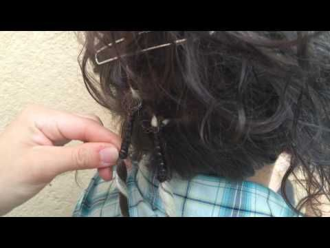 Different Hair Shop how to apply cyber dread double ended