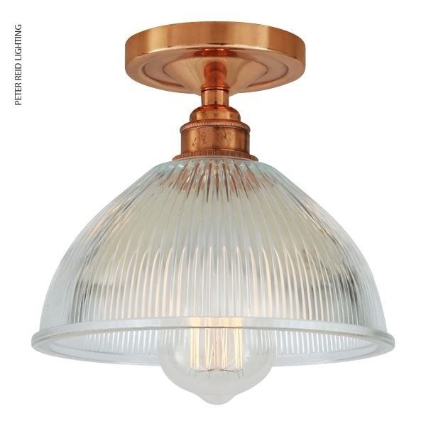 Erbil prismatic semi flush ceiling light by irelands mullan