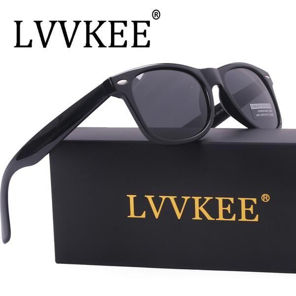 b0d38c809dd Hot Sales LVVKEE brands Quality fashion Men Women Polarized lens Classic  sunglasses UV400 HD sun glasses