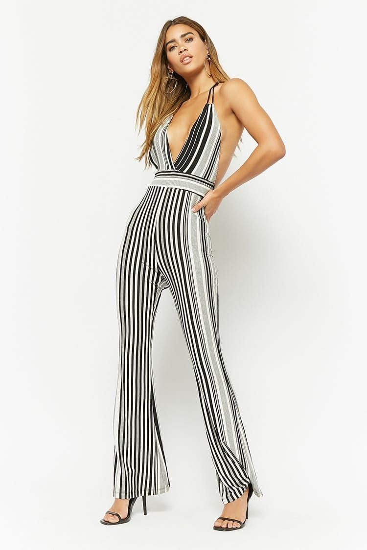 ad6e9bc06c7 Product Name Striped Halter Jumpsuit