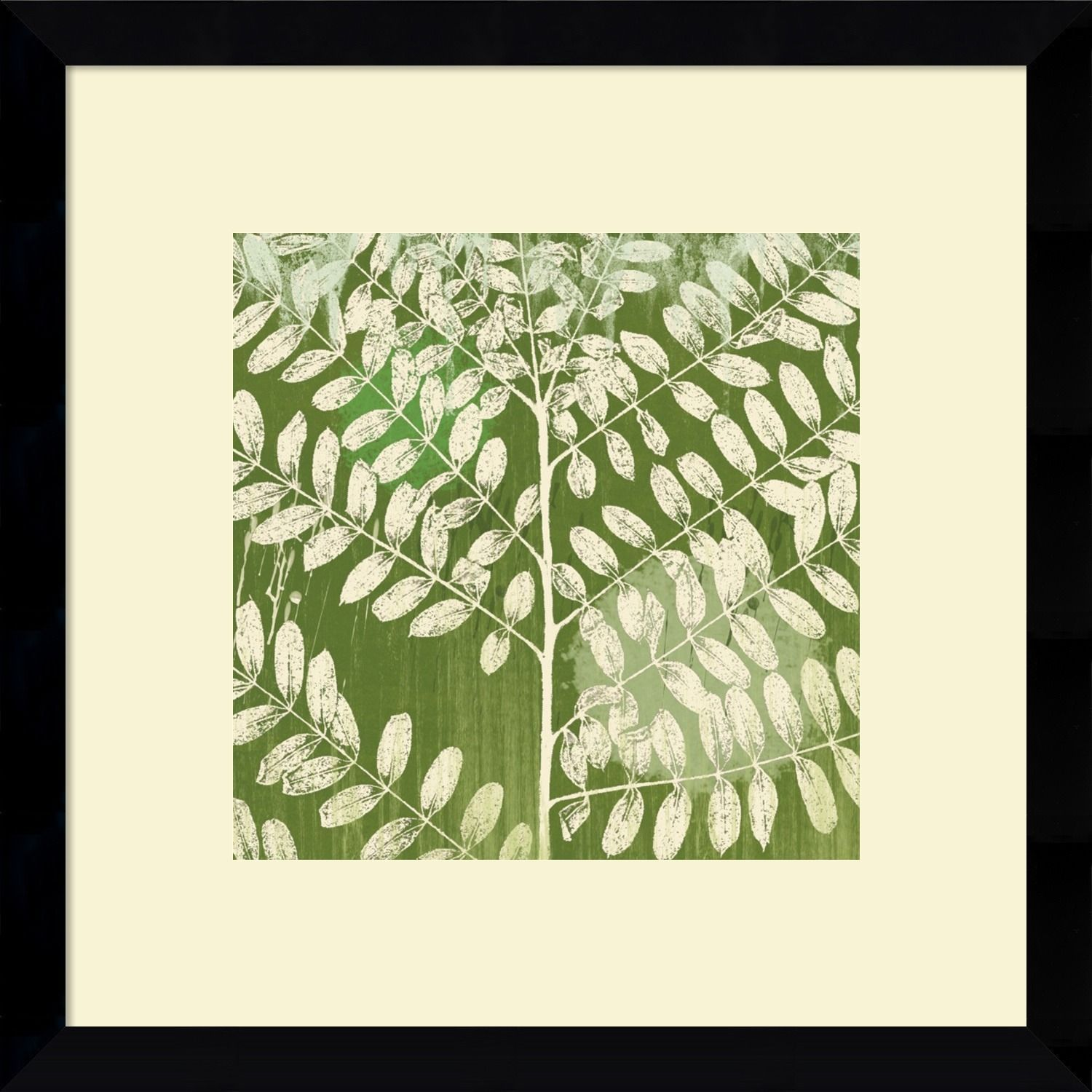 Erin Clark \'Forest Leaves\' Framed Art Print | Products | Pinterest ...