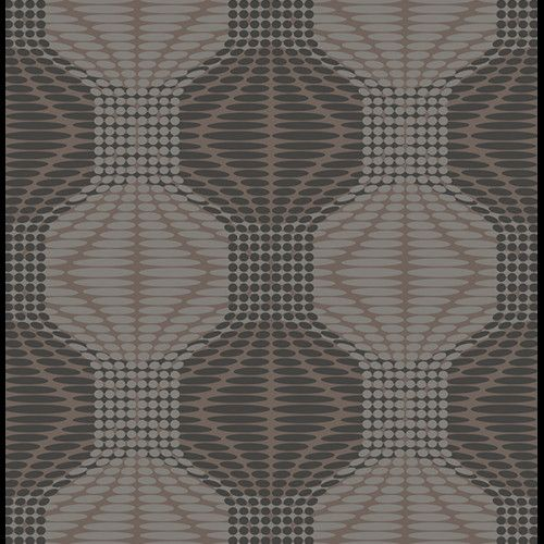 "Found it at Wayfair - Optic 33' x 20.5"" Geometric Wallpaper"