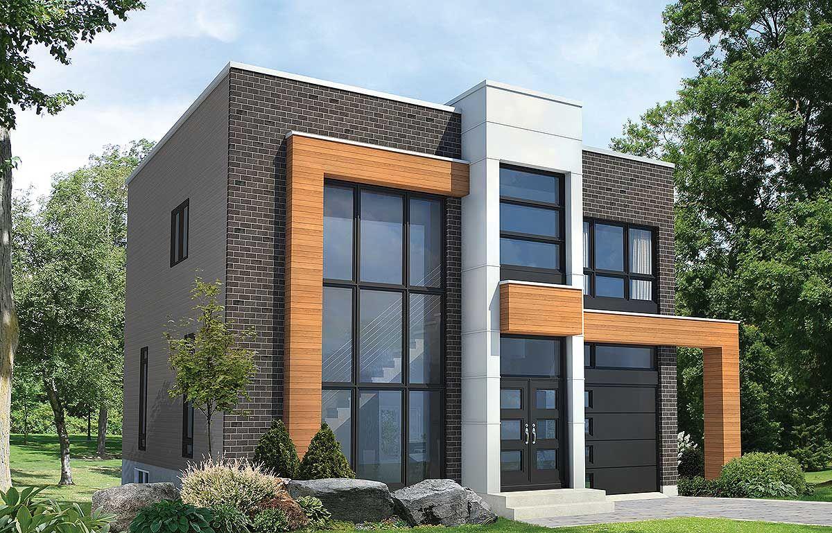 Plan 80827pm Open Concept Modern House Plan Modern