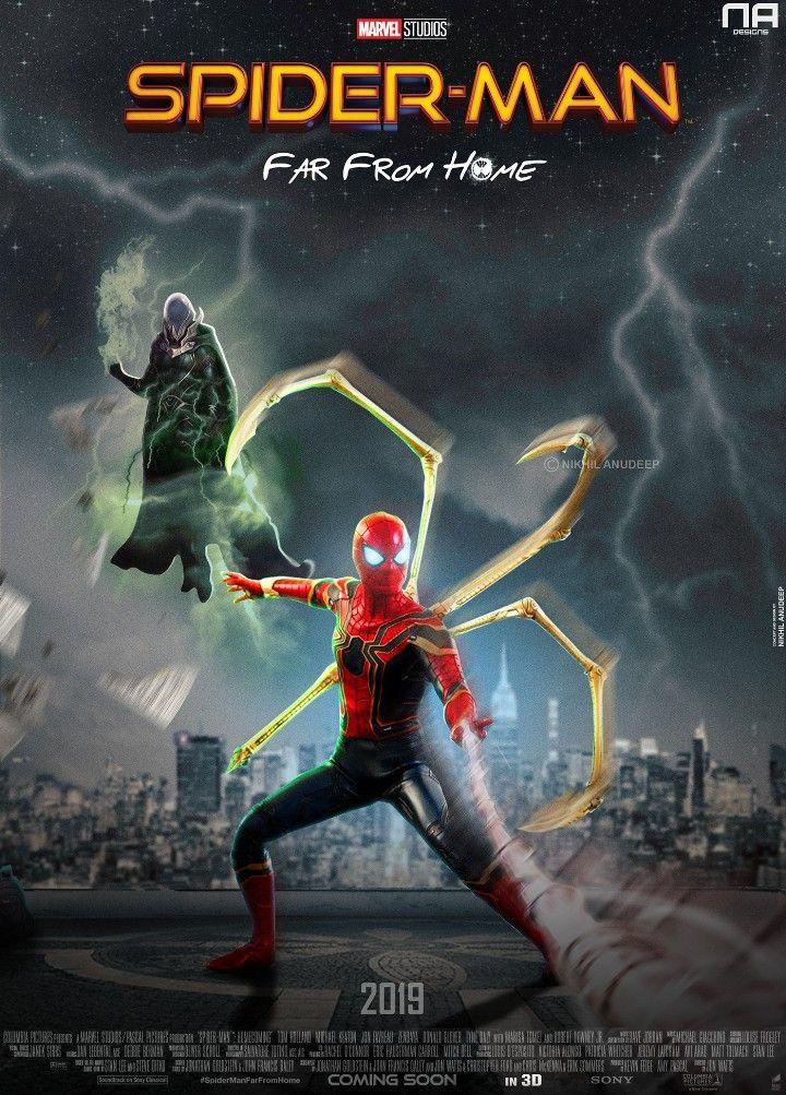 Far from home spiderman marvel spiderman marvel