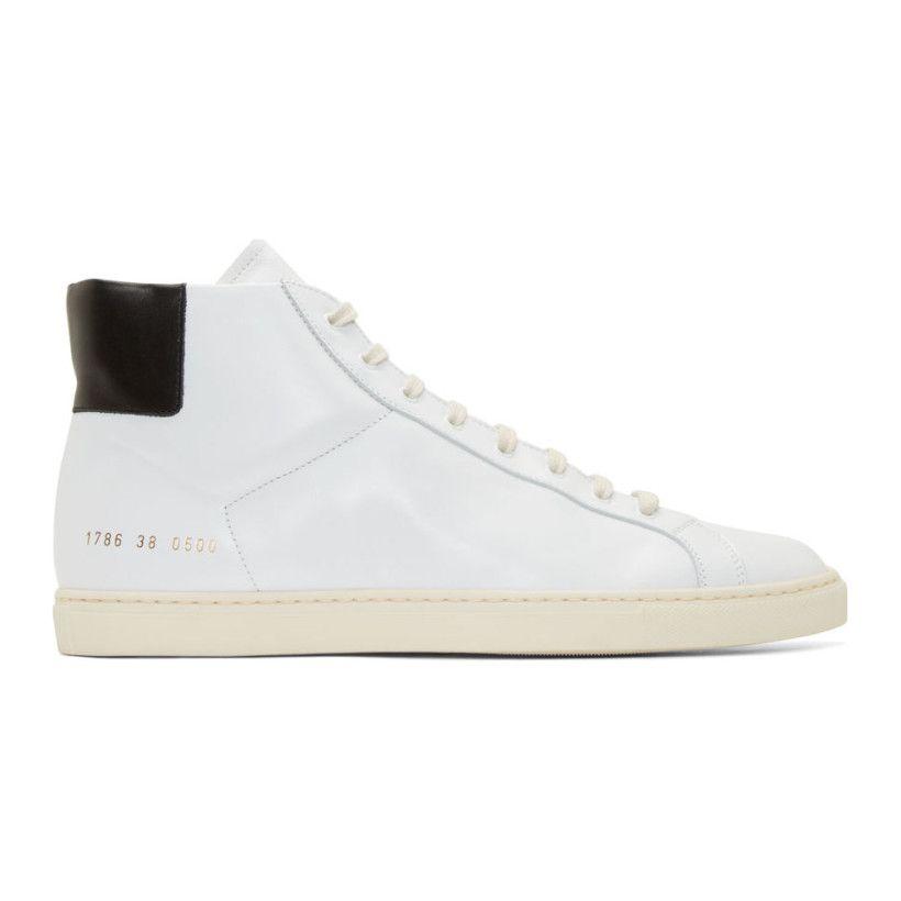 Projets Communs Achilles Top Sneakers Haut - Noir cY4fIphn