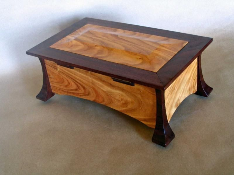 Jewelry Box Wooden Boxes Pinterest Box Woodworking and Wood