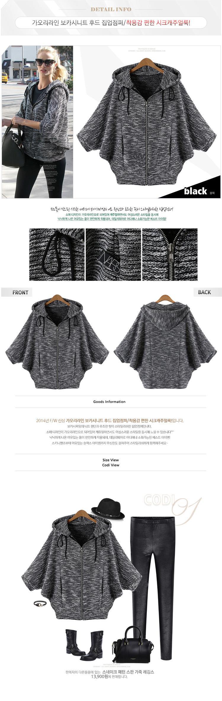Aliexpress.com: Comprar Más tamaño chaqueta de punto mujer básica ...
