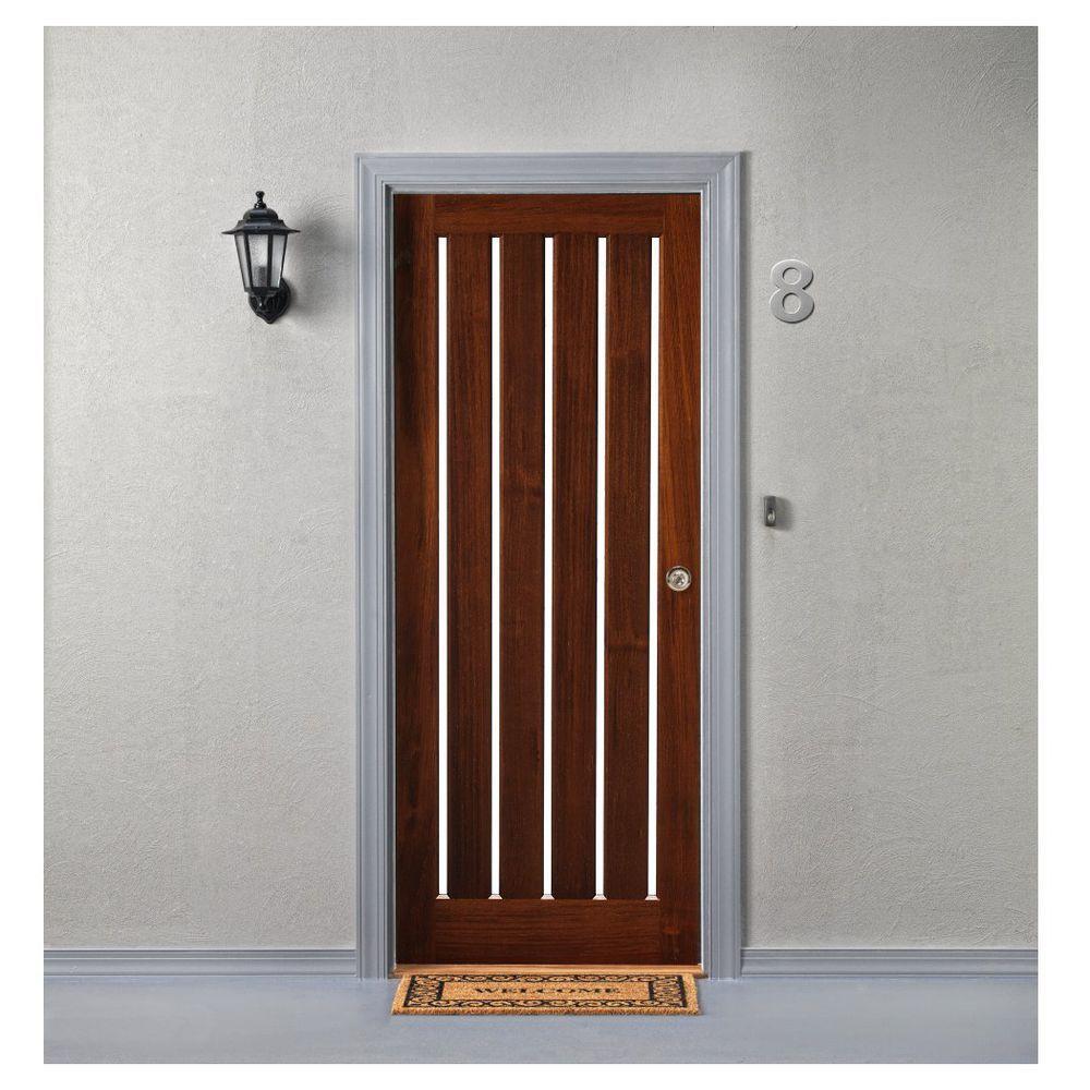 Corinthian Infinity 5 Vertical Glazed Clear Door 2040x820x40mm Doors Design Suites Home Improvement