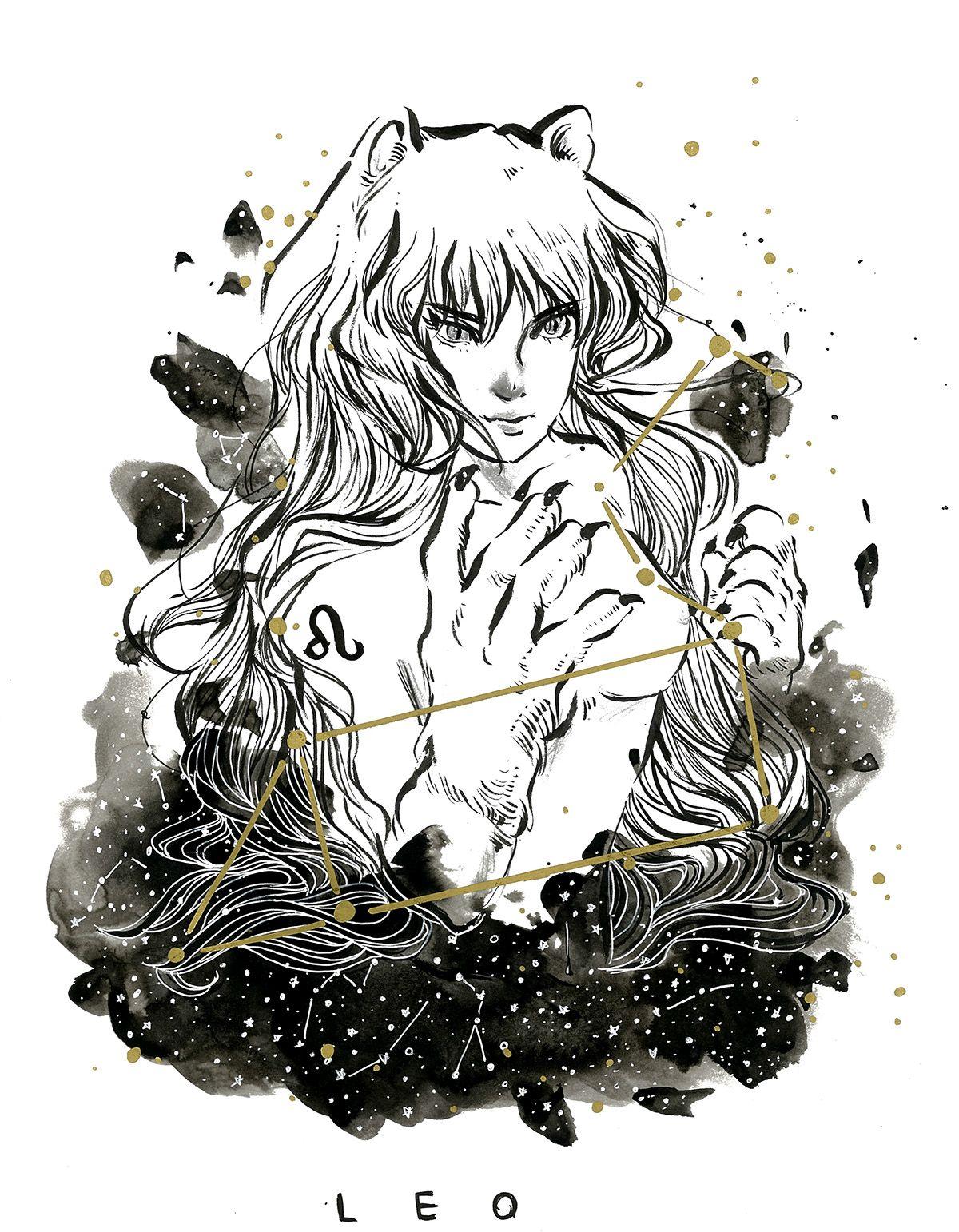 Leo // Jiwon Kim astrology zodiac leo Anime zodiac