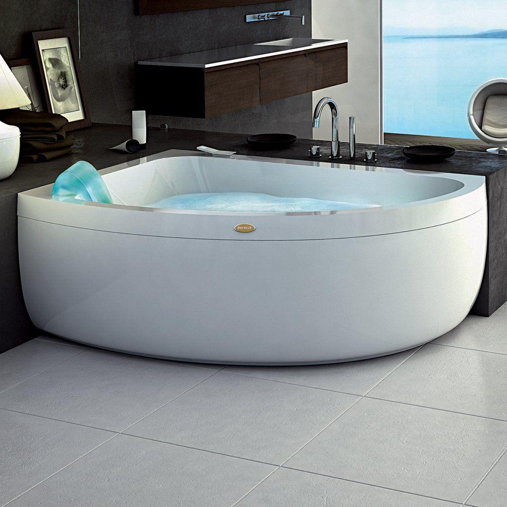 Jacuzzi Aquasoul Offset Whirlpool Bath 1500 X 1000mm In 2020 Steam Shower Cabin Shower Cabin Jacuzzi Bath
