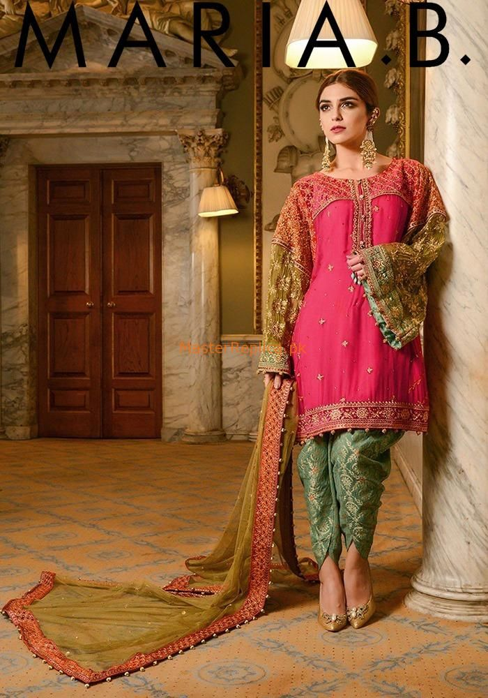 307ecbf789 Check Out Maria B. Luxury Embroidered Chiffon Collection | Pakistani Couture